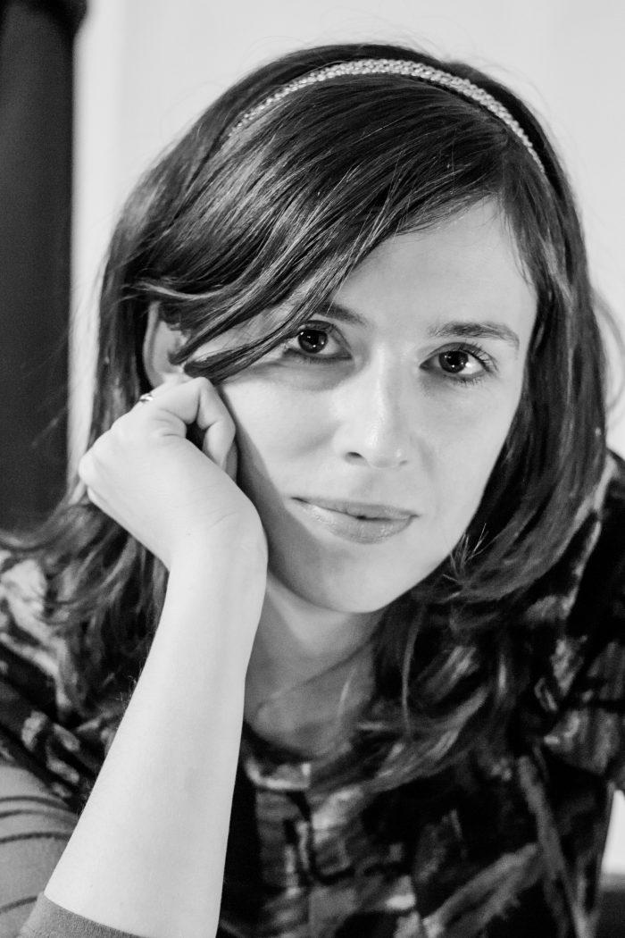 Die Schriftstellerin und Journalistin Elise Wilk. (Foto: Alina Andrei)